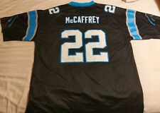 NWOT Christian McCaffrey Carolina Panthers Black Jersey Men's 2XL