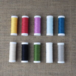 LINEN SEWING THREAD CHOICE OF COLOURS 70m