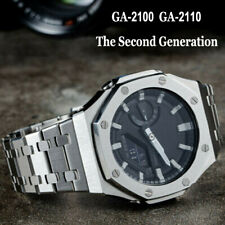 Stainless Metal GA-2100 Second Generation For G Shock Band Bezel Case Watchband