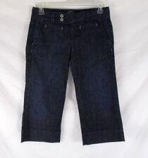 Lucky Brand Womens Jean Denim Capri Pants Sz 8/29 Blue Straight Leg CB87Q