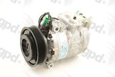 Global Parts Distributors 6512224 New Compressor And Clutch
