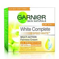 Garnier White Complete Multi Action Fairness Cream 40g UV Protect SPF 19 PA +++