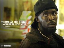"025 The Wire - Crime Drama TV Series Season Shows 32""x24"" Poster"