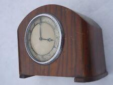 Vintage 1940's / 50's Smiths Platform Movement Mantle Clock. Spares Or Repair