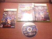 Microsoft Xbox 360 CIB Complete Tested Sonic's Ultimate Genesis Collection