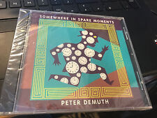 "Peter Demuth ""Somewhere In Spare Moments"" cd SEALED"