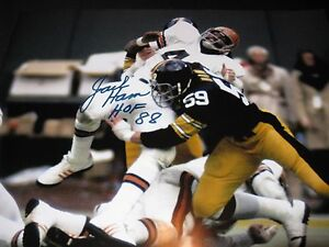 "Jack Ham Pittsburgh Steelers Signed 16x20 Photo PSA ""HOF88"""
