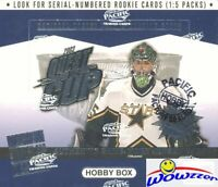 2002/03 Pacific Quest for the Cup Hockey Factory Sealed HOBBY Box-5 RC+3 JERSEY