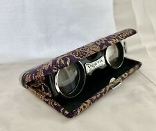 Vintage VESTA Japanese Folding Pocket Opera Theater Glasses Binoculars, 3.5X26
