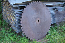 "Large Sawmill Buzz Saw Blade 52"" 50 Teeth Diameter  Solid Sawblade"