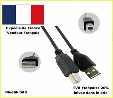 2m CABLE USB CORDON USB 2.0 AB pour imprimante EPSON SAMSUNG CANON HP Brother