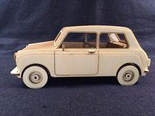 Laser Cut Wooden Mini Car 3D Model/Puzzle Kit