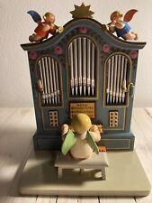 Grünhainichener Engel® mit Orgel, Wendt und Kühn, frühe 50er Jahre, Sammlerstück