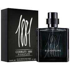 Parfum CERRUTI 1881 MEN SIGNATURE EDP 100ML Neuf Et Sous Blister
