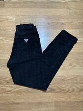 Vintage 90s GUESS Womens 28 Black Original Fit Classic Mom Jeans