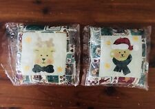 New ListingLillian Vernon Christmas Country Pillow Ornaments Vintage Decor New Deer Bear