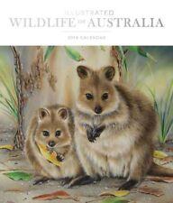 NEW Illustrated Wildlife of Australia 2019 Deluxe Wall Calendar Wall Calendar