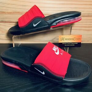 Nike Air Max Camden Men's Sandals Slides Size 10 Red Black NEW BQ4626-002