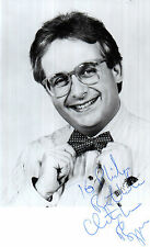 TV PRESENTER & ACTOR CHRISTOPHER BIGGINS EARLY HAND SIGNED POSTCARD 5.5 x 3.5