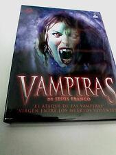 """DVD """"VAMPIRI DI JESUS FRANCO"""" 2DVD DIGIPACK JESS FRANCO VERGINE TRA LOS MORTO"""