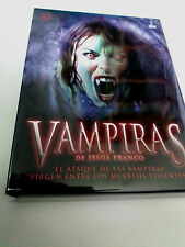 "DVD ""VAMPIRAS DE JESUS FRANCO"" 2DVD DIGIPACK JESS FRANCO VIRGEN ENTRE LOS MUERTO"
