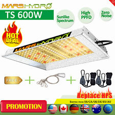 MarsHydro TS 600W LED Grow Light Sunlike Full Spectrum Veg Bloom for Hydroponics
