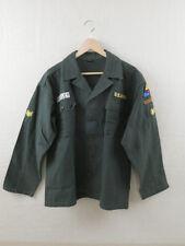 US ARMY Fatigue Hemd Elvis Presley Shirt Jacke Vietnam Uniform Spearhead GI