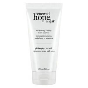 philosophy Renewed Hope In A Jar Revitalizing Foam Cleanser New 150ml Skincare