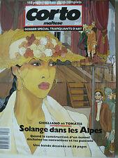Magazine (très bel état) - Corto Maltese 16 (couverture de Ghigliano)