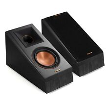 Klipsch RP-500SA Ebony Vinyl (Pair) Atmos Speakers Open Box w/ Damaged Box