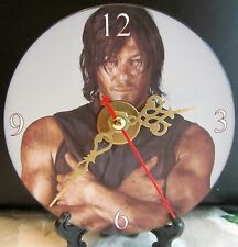 Brand New The Walking Dead Daryl Dixon Reedus CD Clock Horror Zombies Nice!!