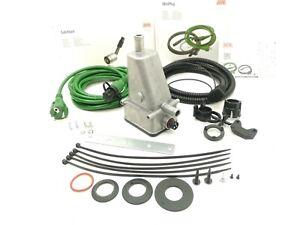 DEFA 411730 Engine Heater 60°C THERMOSTAT 2000W 230V + Cable Set 460787 5m +1,5m