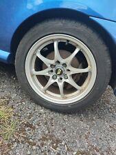 """Wolfrace Alloy Wheels 15"""" 4x100"""