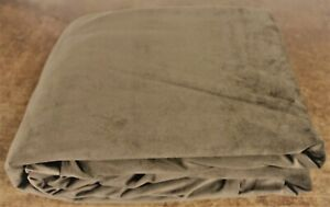 NEW FULL SIZE FUTON MATTRESS COVER .Khaki-Brown color .BRUSHED SUEDE. 3 side zip