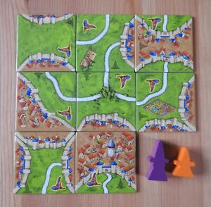 Carcassonne – Mage & Witch | Mini Expansion | New | English Rules
