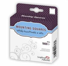 Scrapbook Adhesives MOUNTING SQUARES ~ Initially Repositionable ~1000ct.~ 01606
