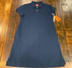 NWT Nike Polo Womens Golf Dress Obsidian BV0193 451 Size Medium M $85