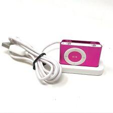New listing Apple iPod Shuffle 2nd Generation Pink 1Gb A1204 Ma947Ll/A Mp3 Player
