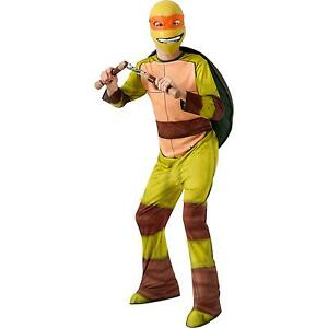 New Teenage Mutant Ninja Turtles Michelangelo Boys Halloween Costume