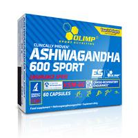 KSM-66 Ashwagandha 600 Sport 300mg 60 Capsules | Testo Booster Energy Cortisol
