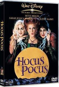 Hocus Pocus Walt Disney Dvd Film Da Collezione In Italiano 2013 ORIGINALE Versio