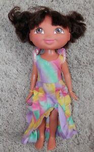 """Nick Jr. Dora The Explorer Plush Doll Figure toy plush  11"""" toy doll"""