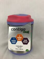 Contigo Kids Food Jar with Thermal Lock Vacuum Sealed Hot Cold Leak Proof 10oz