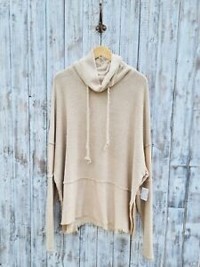 Free People Oversized Slouchy Top - XS **Brand New With Tags**