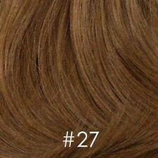 Light Brown Short Wispy Wig w/flip, w/bangs - Noelle