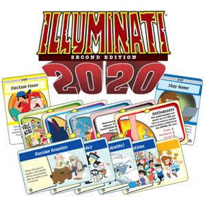 2020 SET ILLUMINATI Card Game  C0V1D-19 BLM VACCINE TRUMP MASKS FAUCI FRAUD