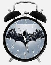 "Batman Alarm Desk Clock 3.75"" Room Decor E58 Nice for Gifts wake up"
