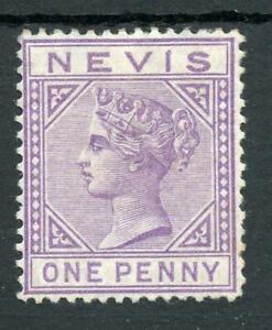 Nevis 1879-80 1d lilac-mauve SG23 MM cat £80