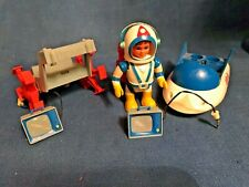 Vintage 1968 Eldon Billy Blastoff Space Scout Set w/ Lunar Crawler & Car &Access