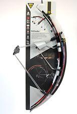 Topeak DeFender iGlow X Road Bike Fenders Set/Glowing Light Front/Rear Wheel
